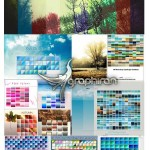دانلود بیش از ۵۰۰۰ گرادیان رنگی فتوشاپ با تنوع بسیار بالا
