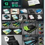 دانلود پک کارت ویزیت های تجاری و شخصی PSD لایه باز – شماره ۳۹۰