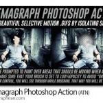اکشن خارق العاده فتوشاپ سینماگراف Cinemagraph Photoshop Action