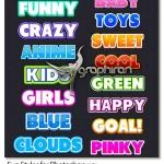 دانلود ۱۵ استایل بامزه و جدید فتوشاپ Fun Styles for Photoshop