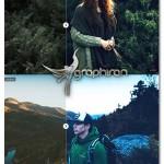 اکشن فتوشاپ افکت رنگی فضای جنگل Into The Jungle Photoshop Actions