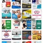 ۵۰ قالب آماده بنر تبلیغاتی اینستاگرام Instagram Template Banners