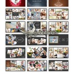 قالب پاورپوینت آلبوم کلاژ عکس عاشقانه و خانوادگی – شماره ۶۵