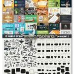 مجموعه عظیم فونت و گرافیک MEGAFONT – Font & Graphics Bundle