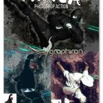دانلود اکشن فتوشاپ افکت نینجا Ninja Photoshop Action