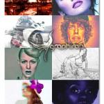 مجموعه ۱۰ اکشن افکت عکس فتوشاپ Photoshop Actions Bundle
