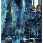 اکشن فتوشاپ افکت طوفان و گردباد Storm Photoshop Action