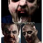 اکشن فتوشاپ تبدیل عکس عادی به زامبی Zombie Action