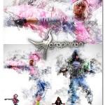 اکشن فتوشاپ جدید ساخت عکس دودی Smoke V.2 Photoshop Action