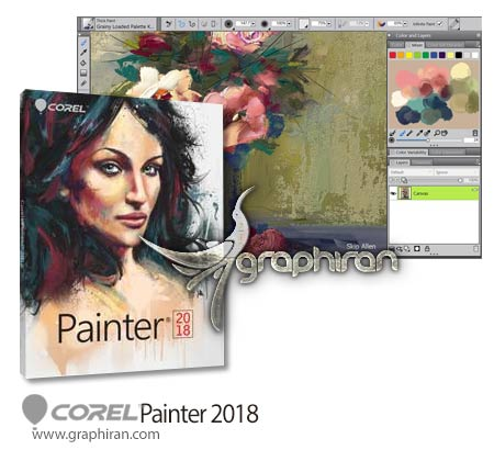 دانلود corel painter 2018