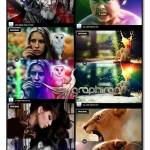 ۳۵ اکشن فتوشاپ افکت های HDR رنگی HDR Photo FX V.1 Photoshop Action