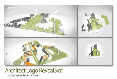 پروژه افتر افکت نمایش لوگوی معماری