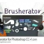 افزونه مدیریت براش، اکشن و ابزارهای فتوشاپ Brusherator 1.2 for Photoshop