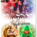 اکشن فتوشاپ ساخت افکت کریسمس Christmas Photoshop Action