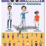 پروژه افتر افکت سر افراد روی کاراکترهای کارتونی Face Cutout Toolkit