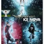اکشن فتوشاپ انتشار تکه های یخ Ice Nova Photoshop Action
