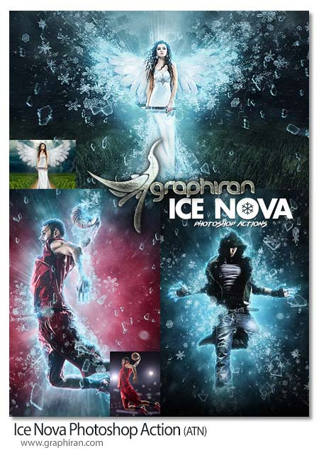 Ice Nova Photoshop Action