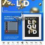 دانلود ۲۰ تصویر برش خورده طلای مایع Isolated Liquid Gold