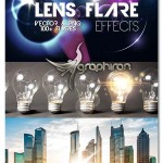 دانلود مجموعه ۱۰۰ تصویر افکت نور لنز Lens Flare Effects
