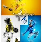اکشن فتوشاپ انتشار ذرات مینیمال Minimal Dispersion Photoshop Action