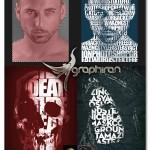 اکشن فتوشاپ تایپوگرافی کلمات روی عکس Text Mask Photo Effect
