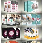 دانلود ۱۰ نمونه تراکت تبلیغاتی متنوع و مدرن PSD لایه باز