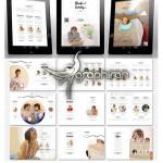 دانلود قالب کاتالوگ دیجیتال محصولات ۱۰۰ صفحه ای سایز A4