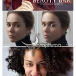مجموعه اکشن های روتوش قدرتمند فتوشاپ Beauty Bar Retouch Collection