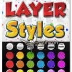 دانلود مجموعه استایل های رنگی و سه بعدی برای فتوشاپ