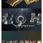 پروژه افتر افکت نمایش لوگوی سینمایی Cinematic Logo Text Reveal