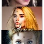 اکشن فتوشاپ روتوش و زیباسازی چهره Incredible Skin Glow