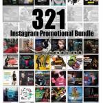 ۳۲۱ طرح تصاویر تبلیغاتی اینستاگرام Instagram Promotional Bundle