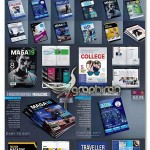 دانلود مجموعه ۱۳ قالب آماده مجله لایه باز برای InDesign