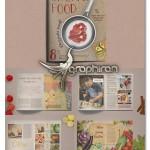 دانلود قالب لایه باز بروشور و مجله مواد غذایی و آشپزی