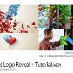 پروژه افتر افکت نمایش لوگو با چسبیدن ذرات + فیلم آموزش استفاده