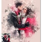 اکشن فتوشاپ عکس عاشقانه Valentinum Sweethearts Photoshop Action