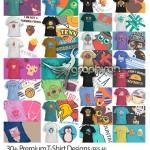 دانلود ۳۰ طرح آماده برای چاپ روی تیشرت Premium T-Shirt Designs