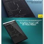 اسکریپت ساخت عکس سه بعدی افتر افکت ۳D Photo Maker The Script