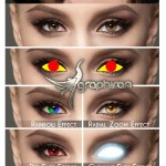 اکشن تغییر رنگ چشم در فتوشاپ Eyes Photoshop Action