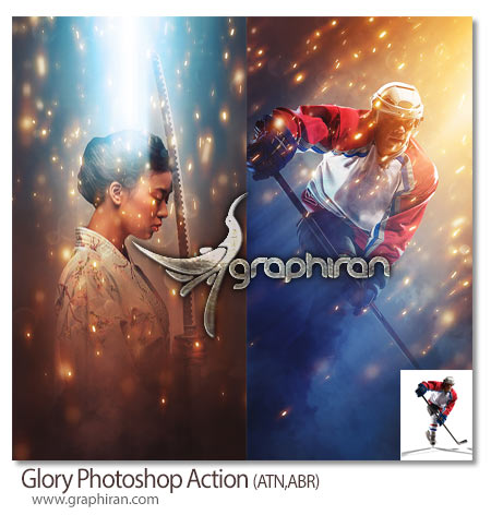 Glory Photoshop Action