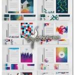 دانلود ۱۰ طرح آماده ست اداری وکتور لایه باز EPS و AI – شماره ۱۳۳