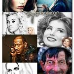 پک عظیم اکشن های رنگ روغن فتوشاپ Oil Paint Photoshop Action Bundle
