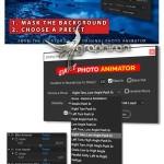 پلاگین افتر افکت متحرک سازی عکس های عادی Simple Photo Animator