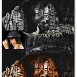اکشن فتوشاپ ساخت تایپوگرافی از عکس Typographic Photoshop Action