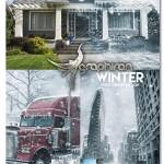 دانلود اکشن فتوشاپ افکت فصل زمستان Winter Photoshop Action