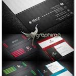 دانلود پک 3 طرح آماده کارت ویزیت جدید و مدرن - شماره 402