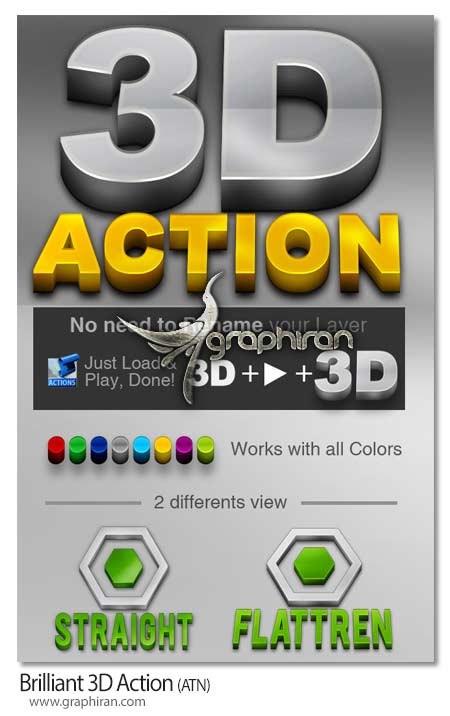Brilliant 3D Action