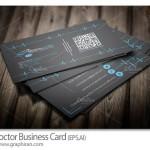 دانلود کارت ویزیت لایه باز دکتر و پزشک با طرح ضربان قلب – شماره ۴۰۶