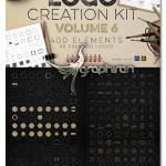 کیت عظیم المان های ساخت و طراحی لوگو Logo Creation Kit Vol.6