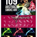دانلود مجموعه ۱۰۹ براش فتوشاپ دود انتزاعی Abstract Smoke Art